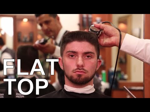How To Cut and Style Flat Top - Greg Zorian Haircut Tutorial