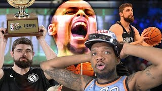 JOE HARRIS BEATS CURRY!?! 2019 NBA THREE POINT CONTEST HIGHLIGHTS