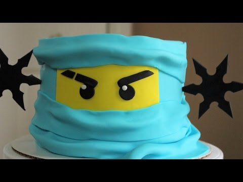 Lego Ninjago Cake Tutorial!