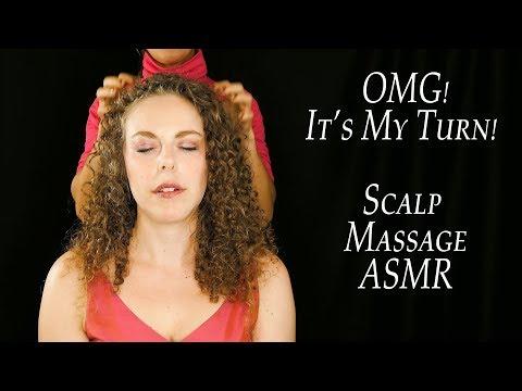 Xxx Mp4 It's My Turn Corrina Gets A Professional Scalp Amp Head Massage ASMR 3gp Sex