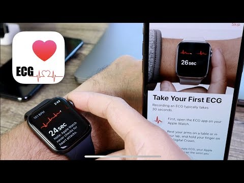 WatchOS 5.1.2 | My First ECG TEST (Electrocardiogram) with Apple Watch