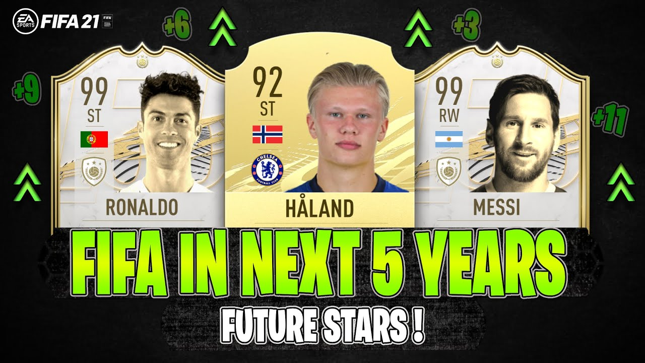 THIS IS HOW FIFA WILL LOOK LIKE IN NEXT 5 YEARS! 🔥😱 | FT. RONALDO, HAALAND, MESSI... etc