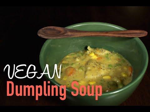super easy dumpling soup recipe ❀❀ vegan
