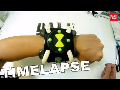 Timelapse - Make Ben10 Omnitrix DIY Cosplay