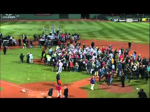 World Series 2013 Red Sox Clinch - MLB International