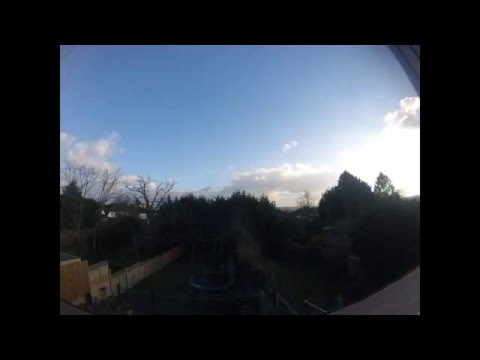 Beautiful Time Lapse 20 March 2016 - Where did all the clouds go?