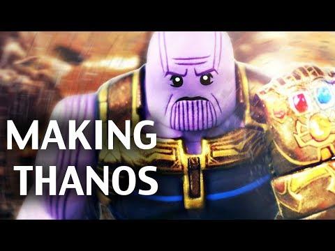 Making LEGO Avengers: Infinity War - THANOS