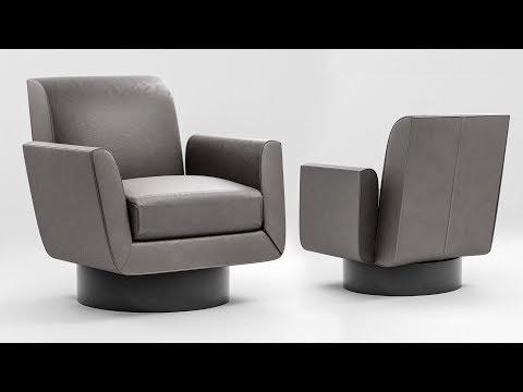 Photorealistic Chair in Blender - Modeling Tutorial : 1 of 2