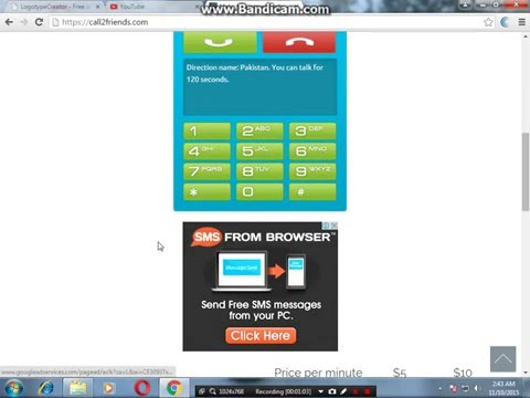 How to make free call pc to mobile