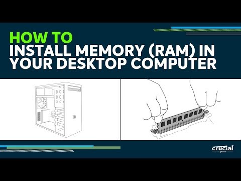 How to install memory (RAM) in your desktop computer
