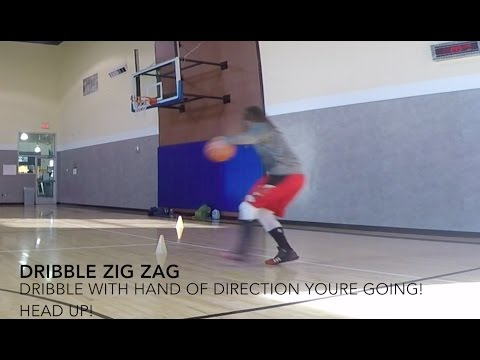Back to the Basics: Dribble Zigzag and Finish Drill