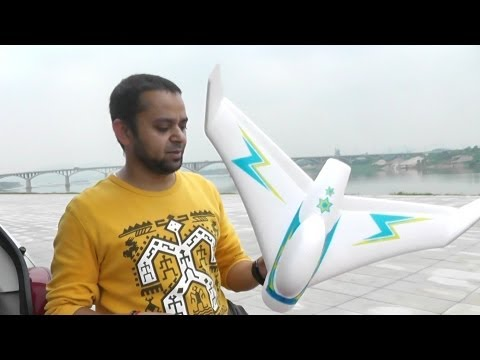 Review - RC Swallow EDF Jet maiden Flight and crashes