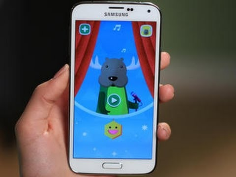 Kids Mode and parental controls on the Galaxy S5