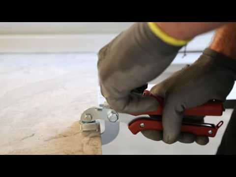 How to properly cut large format tile