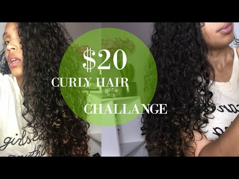 $20 CURLY HAIR ROUTINE + How To Save Money on Curly Hair Products