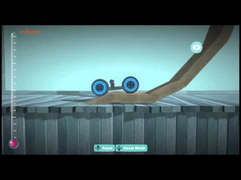 Little Big Planet - Car that drives up walls without using rockets.