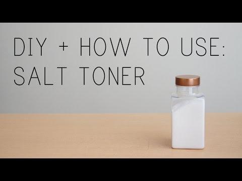 DIY Sea Salt Skin Toner | Procrastinating Pretty