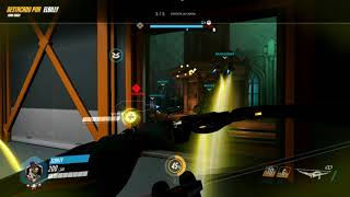 i cant believe i hit that shot with hanzo