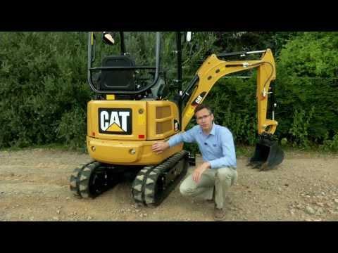Cat® 301.7D CR Mini Excavator Overview