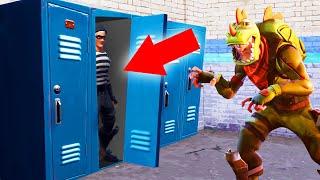 He Can NEVER See Me HERE! (Fortnite Hide And Seek)