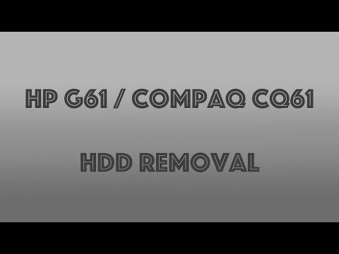 Compaq CQ61 / HP G61 HDD Removal