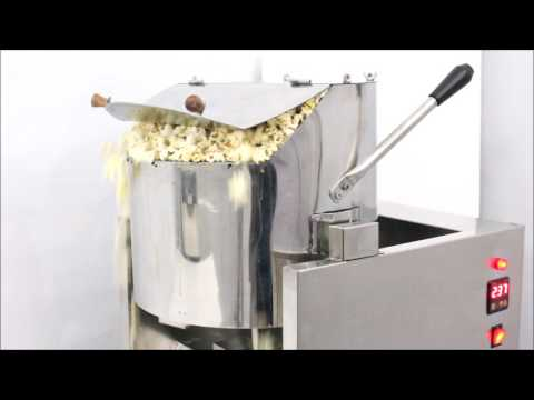 Automatic Popcorn Machine (plant) with Giant Kettle