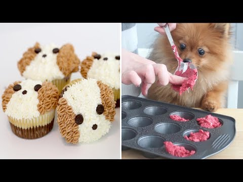 How To Make A Cake For Your Birthday Dog - Oddly Satisfying Video Compilation 🍰🍰👍👍👍