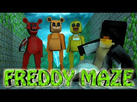 Minecraft   MAZE CHALLENGE SURVIVAL - Freddy Challenge Part 2! (Five Nights at Freddy's)
