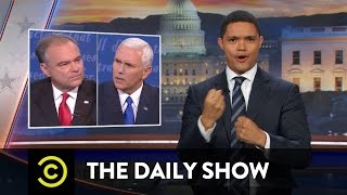 Vice Presidential Debate Wrap-Up: The Daily Show