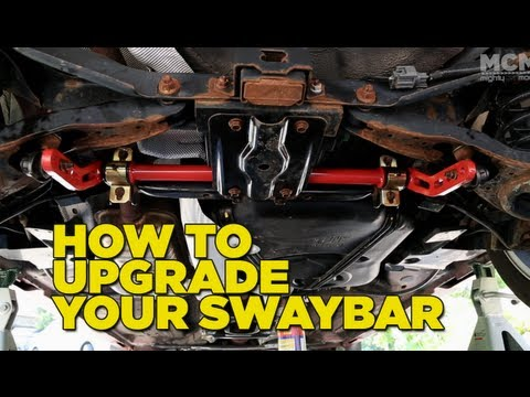How to Upgrade your Sway Bar