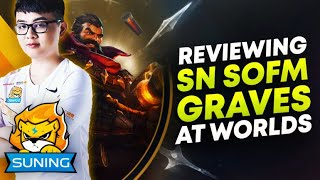 Reviewing SofM Graves at Worlds! (VS JDG GAME 1) | League of Legends