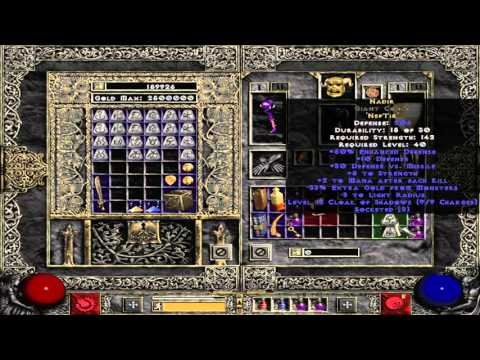 What is Nadir runeword - Diablo 2