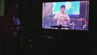 Jeff Doubled Heathens Drums