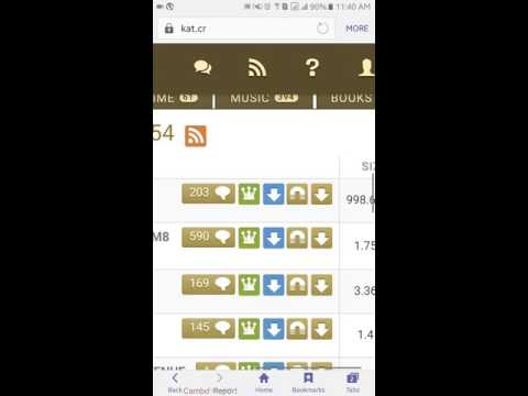How to download Movies by uTorrent on Android phone