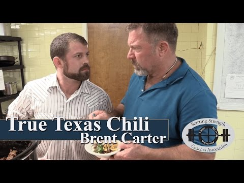 True Texas Chili with Brent Carter