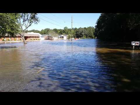 Hurricane Matthew - Rocky Mount, NC - Monday Oct 10