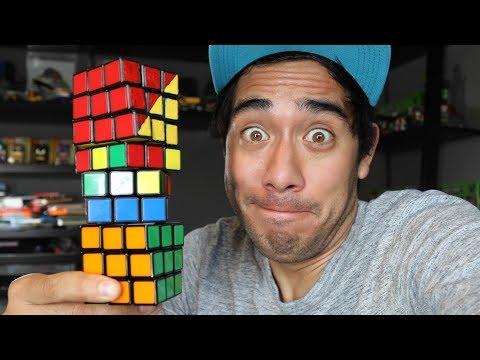 Amazing Rubik's Cube illusions