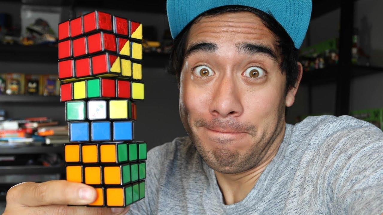 Amazing Rubik's Cube illusions - Zach King