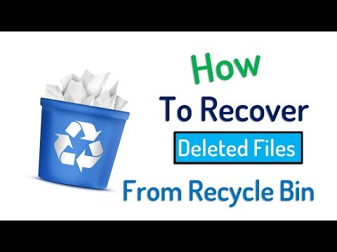 How To Recover or Restore Deleted Files From Recycle Bin