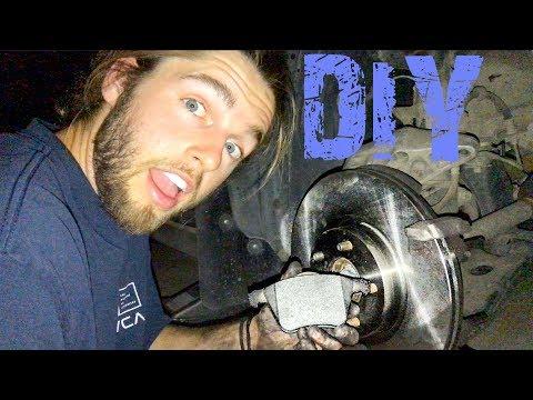 DIY: Replacing Brake Pads and Rotors