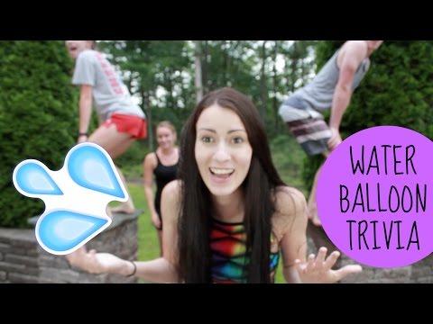 WATER BALLOON TRIVIA CHALLENGE
