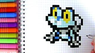 Tuto Dessin Broly Pixel Art Dbz