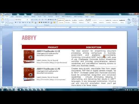 How-to No.19 — Make links clickable in your PDF documents with ABBYY PDF Transformer.