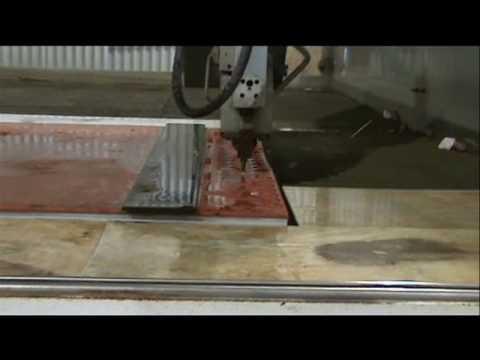 AST Waterjet 5 Axis Waterjet Cutting Rubber Gasket