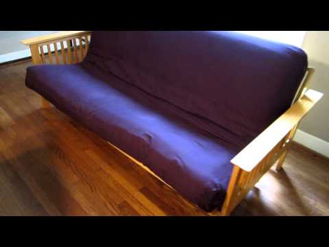 Futon for sale - see how to open it