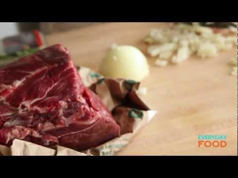 Slow-Cooker Beef Ragù   Everyday Food with Sarah Carey