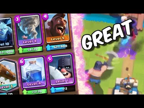 THIS CARD IS GREAT! Winning Executioner Deck in Clash Royale!