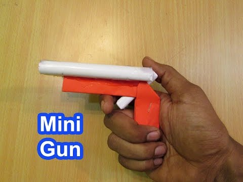 How to Make a Paper Mini Paper Gun - Easy Tutorials