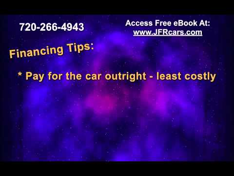 Tips On How To Finance A Used Car - Save You Money