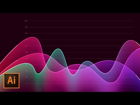 How to Create Metrics Line Graph Analytics Vector Artwork in Illustrator
